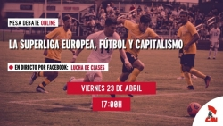 La Superliga europea, fútbol y capitalismo